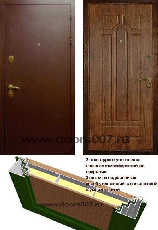 металлические двери с шумоизоляцией специальные
