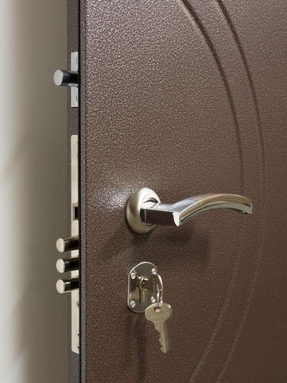двери входные цвет капучино
