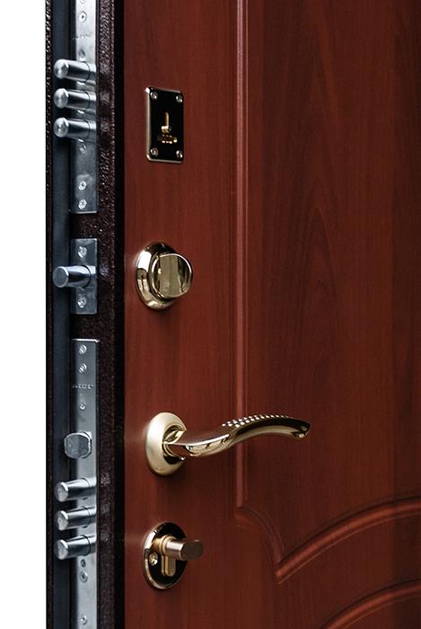 дверь металлическая люкс модерн