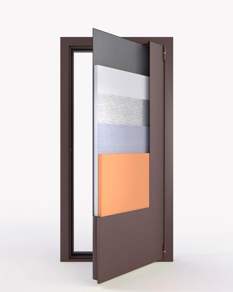 двери металлические входные уличные звукоизоляционные