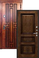 Стальная дверь Regidoors Император CISA (входная металлическая дверь)