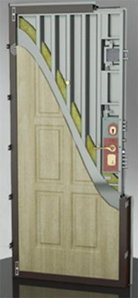 входные двери (стальные двери, металлические двери) DOORS007: дверь Гардиан ДС 8 У / Усиленная