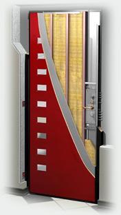 входные двери (стальные двери, металлические двери) DOORS007: дверь Гардиан ДС 3 / Премиум