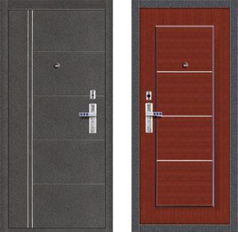 входные двери (стальные двери, металлические двери) DOORS007: дверь Форпост С-128