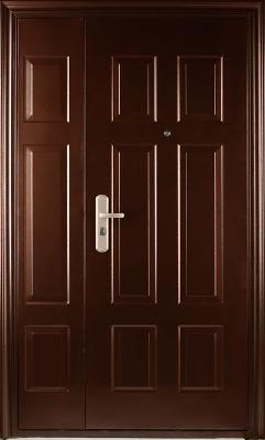 входные двери (стальные двери, металлические двери) DOORS007: дверь Форпост SM 02