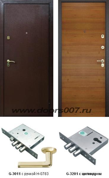 DOORS007: дверь Бульдорс 13Z входные двери (стальные двери, металлические двери)