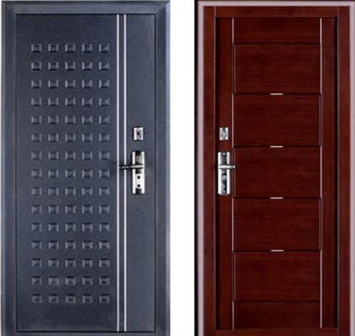 входные двери (стальные двери, металлические двери) DOORS007: дверь Форпост С-228