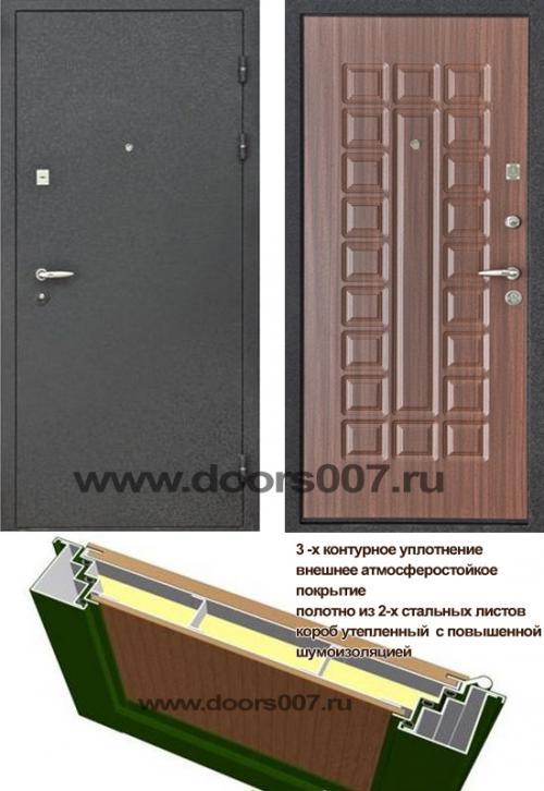 двери входные металлические повышенной звукоизоляцией