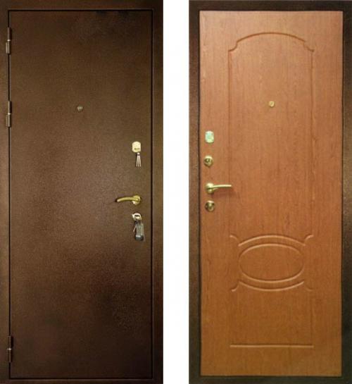 двери стальные в теплом стане