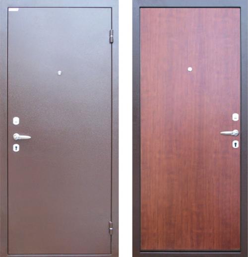 дверь металлическая гладкая