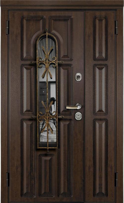 входные двери (стальные двери, металлические двери) DOORS007: дверь Металюкс Статус M860