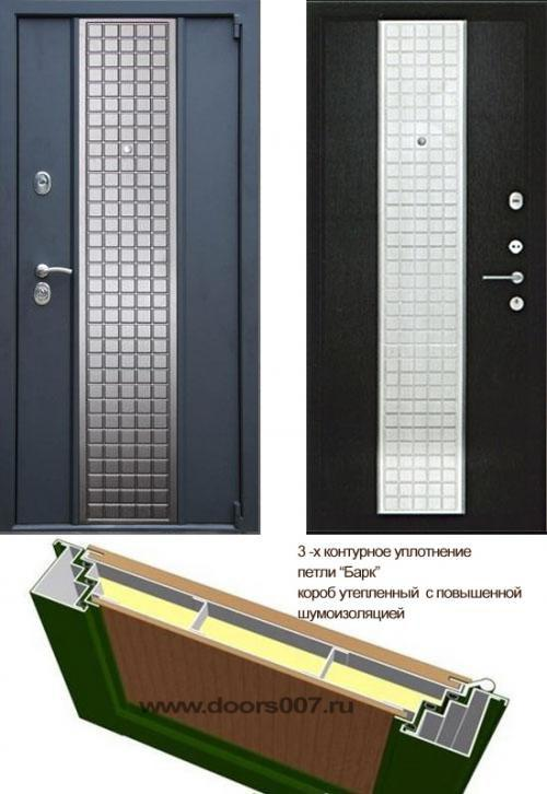 входные двери (стальные двери, металлические двери) DOORS007: дверь Сенатор Модерн 3А