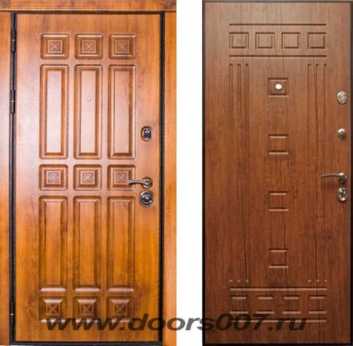 входные двери (стальные двери, металлические двери) DOORS007: дверь PRO-TEC Неаполь