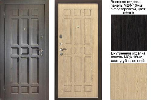 входные двери светлого цвета мдф