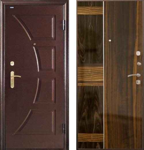 входные двери (стальные двери, металлические двери) DOORS007: дверь Airon Диана (панель 005, 2 замка)