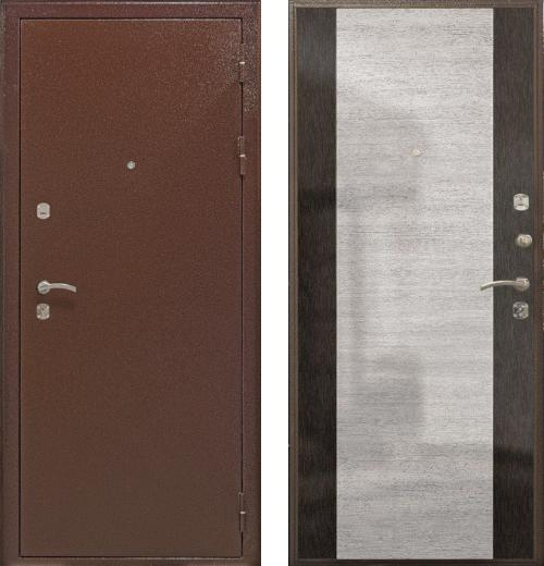 входные двери (стальные двери, металлические двери) DOORS007: дверь Airon Мария (панель 002, 2 замка)