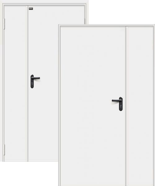 входные двери (стальные двери, металлические двери) DOORS007: дверь Противопожарные ДП-1,5 EI-60 Bravo