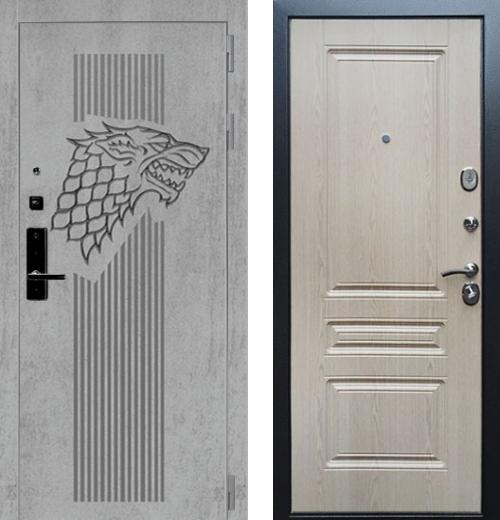 входные двери (стальные двери, металлические двери) DOORS007: дверь Баяр 1 ФЛ-243