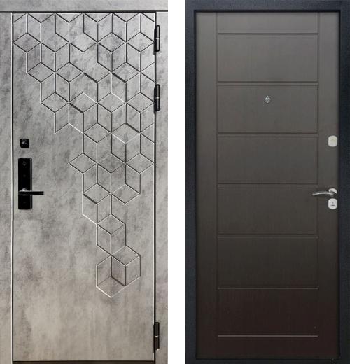 входные двери (стальные двери, металлические двери) DOORS007: дверь Баяр 1