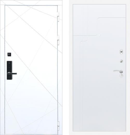 входные двери (стальные двери, металлические двери) DOORS007: дверь Баяр 1 ФЛ-291 Белый ФЛ-246, Цвет