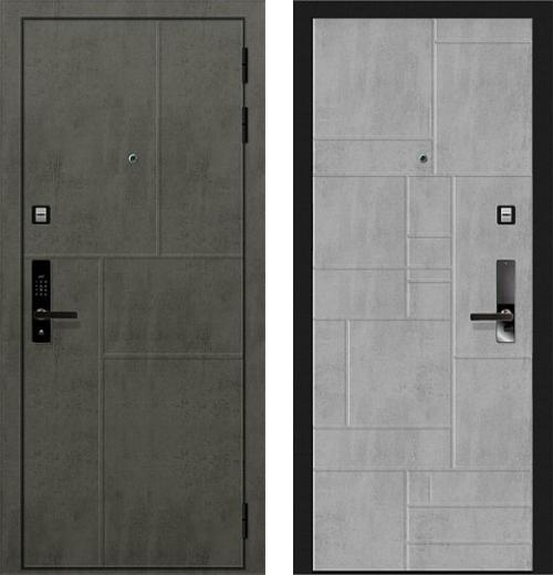 входные двери (стальные двери, металлические двери) DOORS007: дверь Баяр 1 Дизайн 01