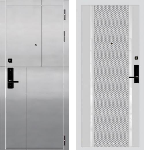 входные двери (стальные двери, металлические двери) DOORS007: дверь Баяр 1 Дизайн 03