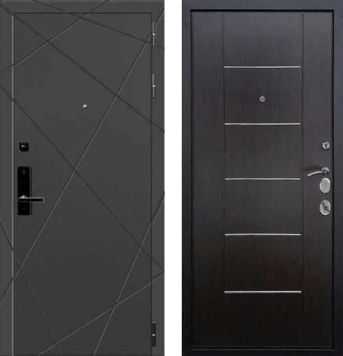 входные двери (стальные двери, металлические двери) DOORS007: дверь Баяр 1 B-03 Молдинг, Цвет