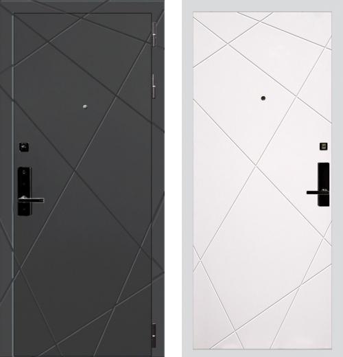 входные двери (стальные двери, металлические двери) DOORS007: дверь Баяр 1 Дизайн 05