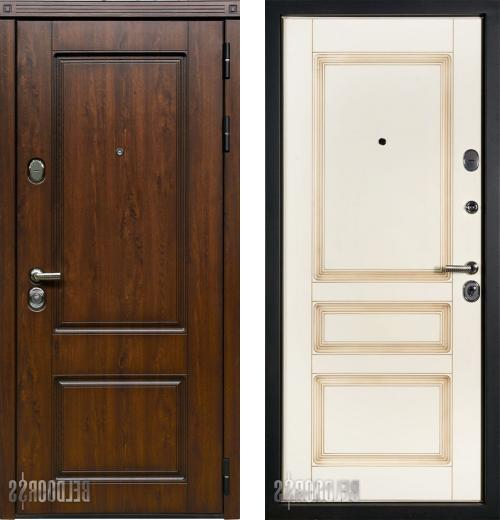 входные двери (стальные двери, металлические двери) DOORS007: дверь Белдорс Классика