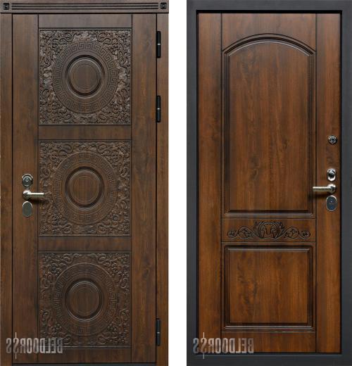 входные двери (стальные двери, металлические двери) DOORS007: дверь Белдорс Круг