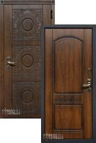 Стальная дверь Белдорс Круг (входная металлическая дверь)