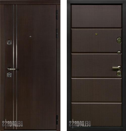 входные двери (стальные двери, металлические двери) DOORS007: дверь Белдорс Линия
