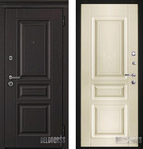 входные двери (стальные двери, металлические двери) DOORS007: дверь Белдорс Статус М601