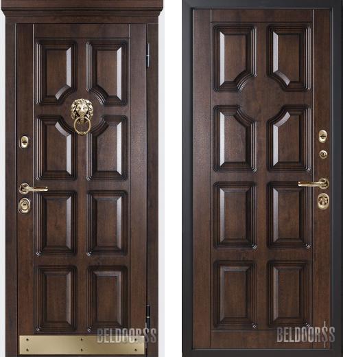 входные двери (стальные двери, металлические двери) DOORS007: дверь Белдорс Статус М707/2