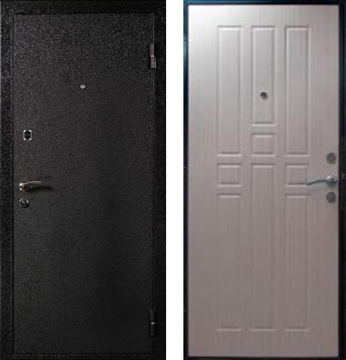 входные двери (стальные двери, металлические двери) DOORS007: дверь Белдорс Эконом