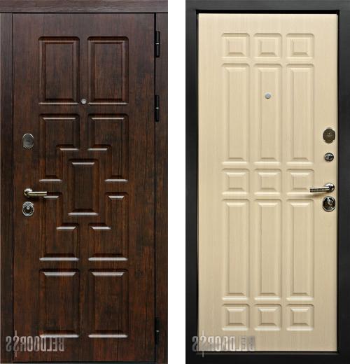 входные двери (стальные двери, металлические двери) DOORS007: дверь Белдорс Премиум