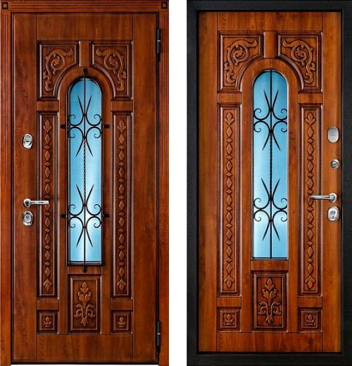 входные двери (стальные двери, металлические двери) DOORS007: дверь Белдорс Русь