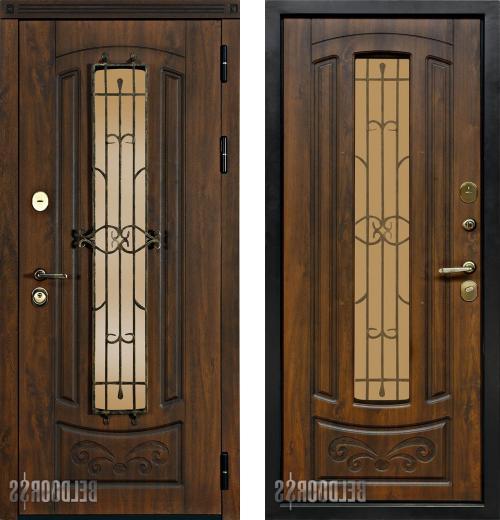 входные двери (стальные двери, металлические двери) DOORS007: дверь Белдорс Сфинкс