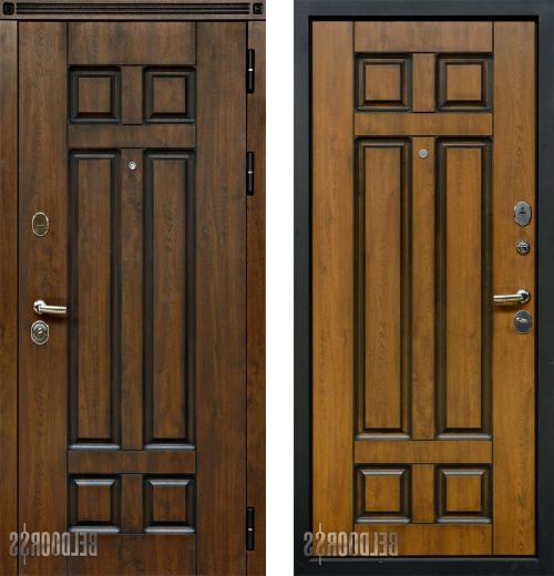 входные двери (стальные двери, металлические двери) DOORS007: дверь Белдорс Вена