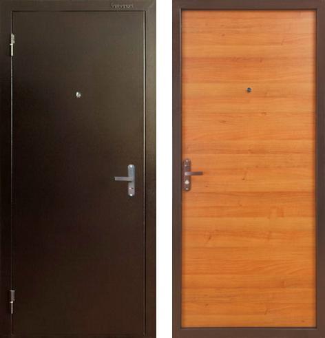входные двери (стальные двери, металлические двери) DOORS007: дверь Бульдорс 10