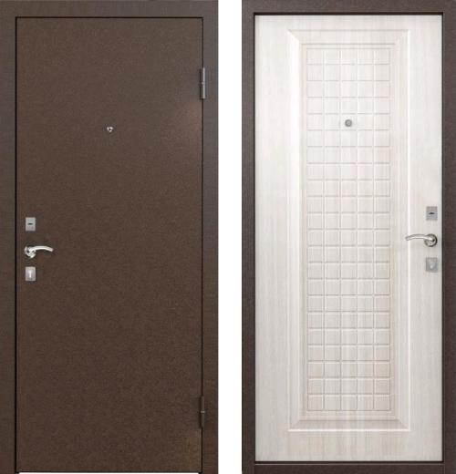 входные двери (стальные двери, металлические двери) DOORS007: дверь Бульдорс 10C