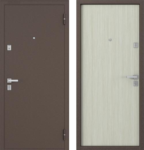 входные двери (стальные двери, металлические двери) DOORS007: дверь Бульдорс 12