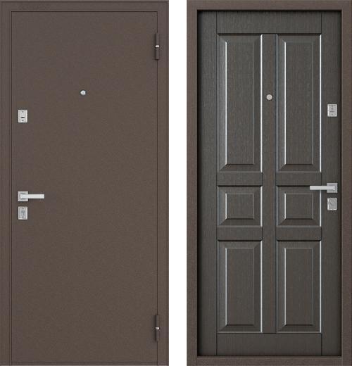 входные двери (стальные двери, металлические двери) DOORS007: дверь Бульдорс 12С