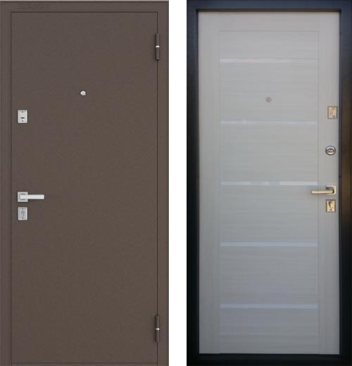 входные двери (стальные двери, металлические двери) DOORS007: дверь Бульдорс 13Р Е-3, Цвет