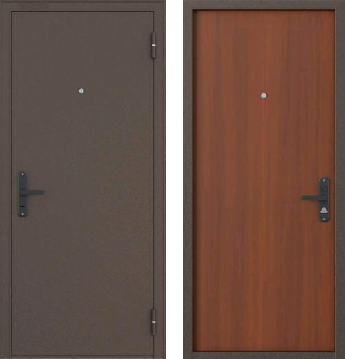 входные двери (стальные двери, металлические двери) DOORS007: дверь Бульдорс 1
