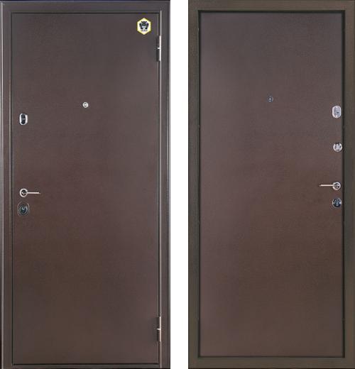 входные двери (стальные двери, металлические двери) DOORS007: дверь Бульдорс Steel 14