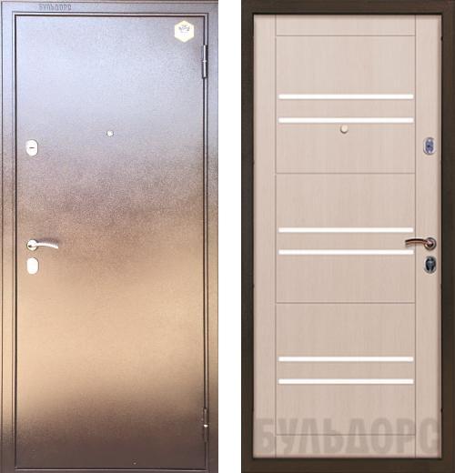 входные двери (стальные двери, металлические двери) DOORS007: дверь Бульдорс 13