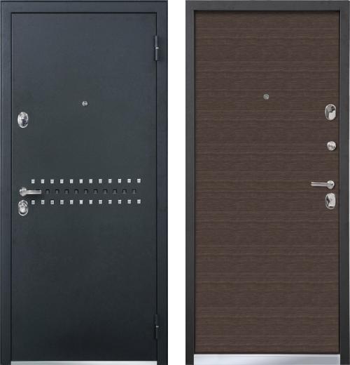 входные двери (стальные двери, металлические двери) DOORS007: дверь Бульдорс 43