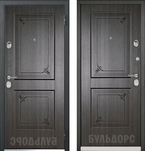 входные двери (стальные двери, металлические двери) DOORS007: дверь Бульдорс 45R P-11 EILEEN