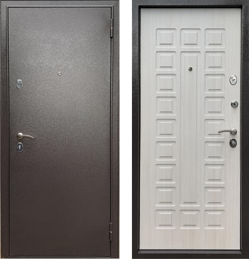 входные двери (стальные двери, металлические двери) DOORS007: дверь Бульдорс ECONOM  Е-110, Цвет